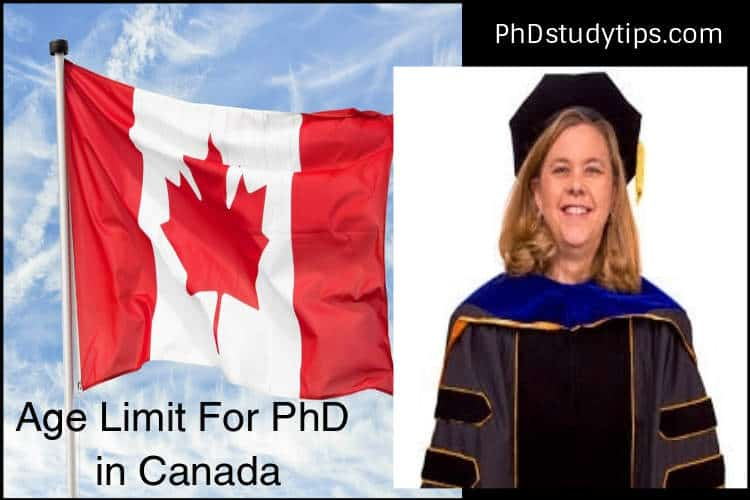 What is the Age Limit to Do Ph.D. in Canada