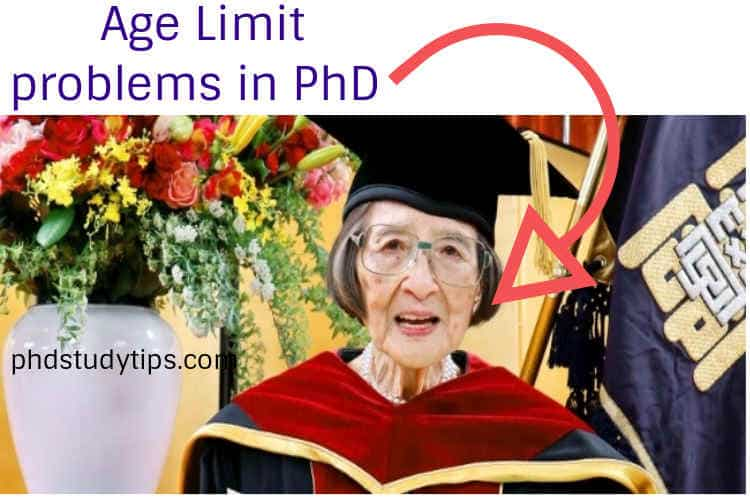 Age Limit for PhD in India