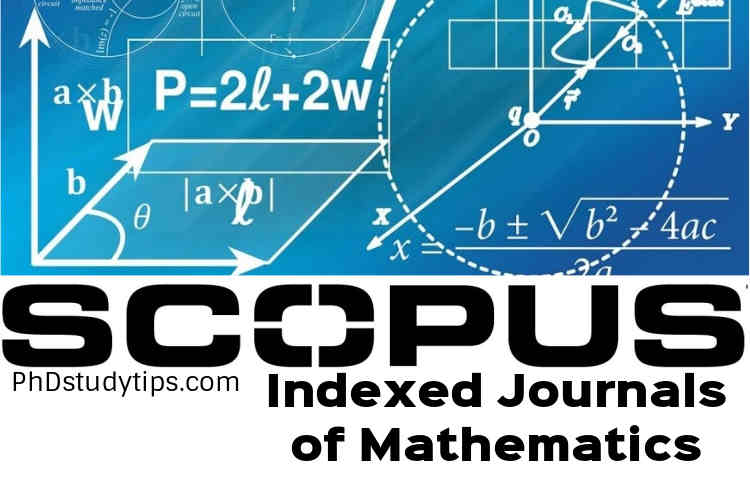 Scopus Indexed Journals in Mathematics