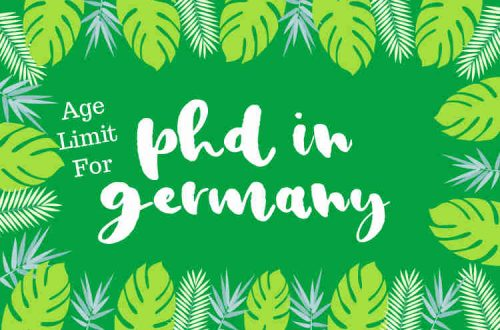 age limit for phd in germany